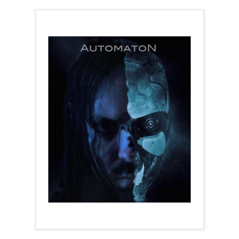 AutomatoN E.V.Olution human machine Home Fine Art Print by automatonofficial's Artist Shop
