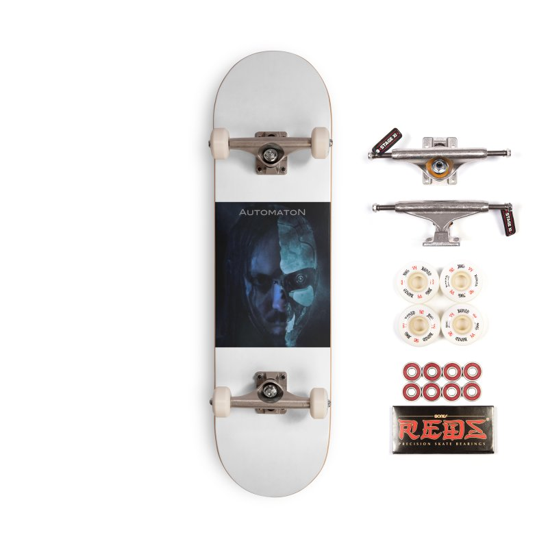 AutomatoN E.V.Olution human machine Accessories Complete - Pro Skateboard by automatonofficial's Artist Shop