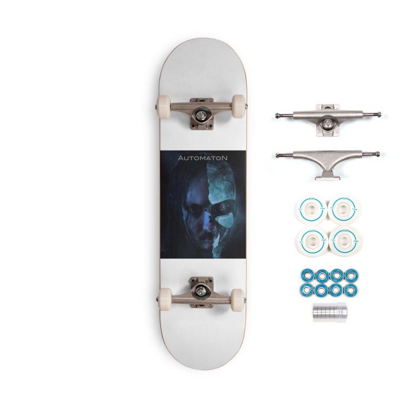 AutomatoN E.V.Olution human machine Accessories Complete - Basic Skateboard by automatonofficial's Artist Shop