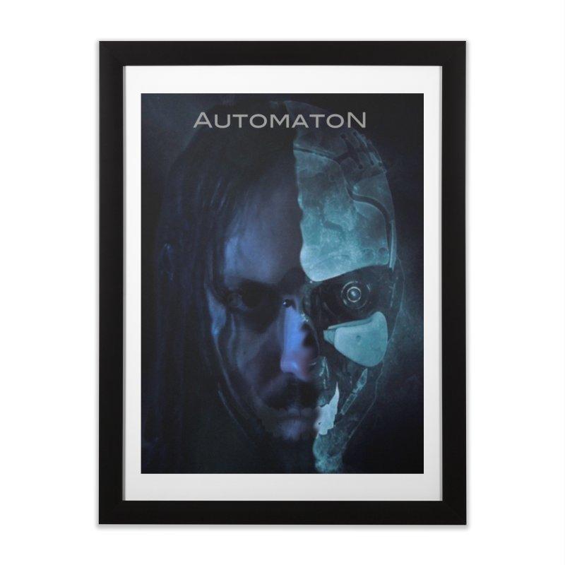 AutomatoN E.V.Olution human machine Home Framed Fine Art Print by automatonofficial's Artist Shop