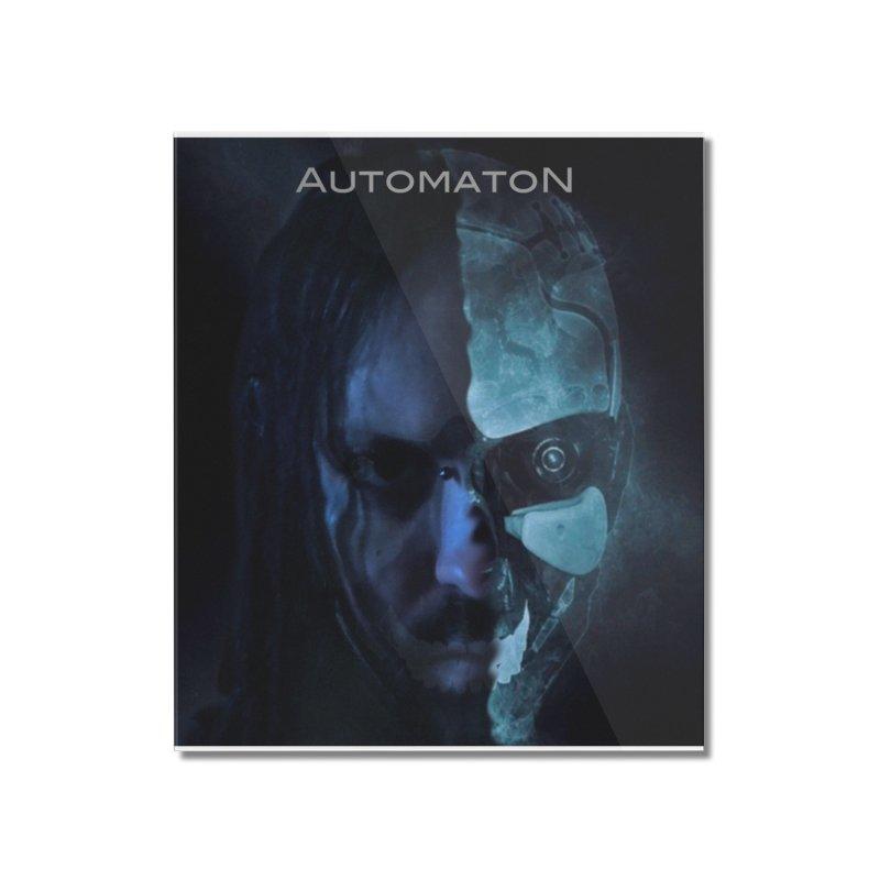 AutomatoN E.V.Olution human machine Home Mounted Acrylic Print by automatonofficial's Artist Shop