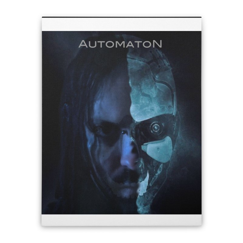 AutomatoN E.V.Olution human machine Home Stretched Canvas by automatonofficial's Artist Shop