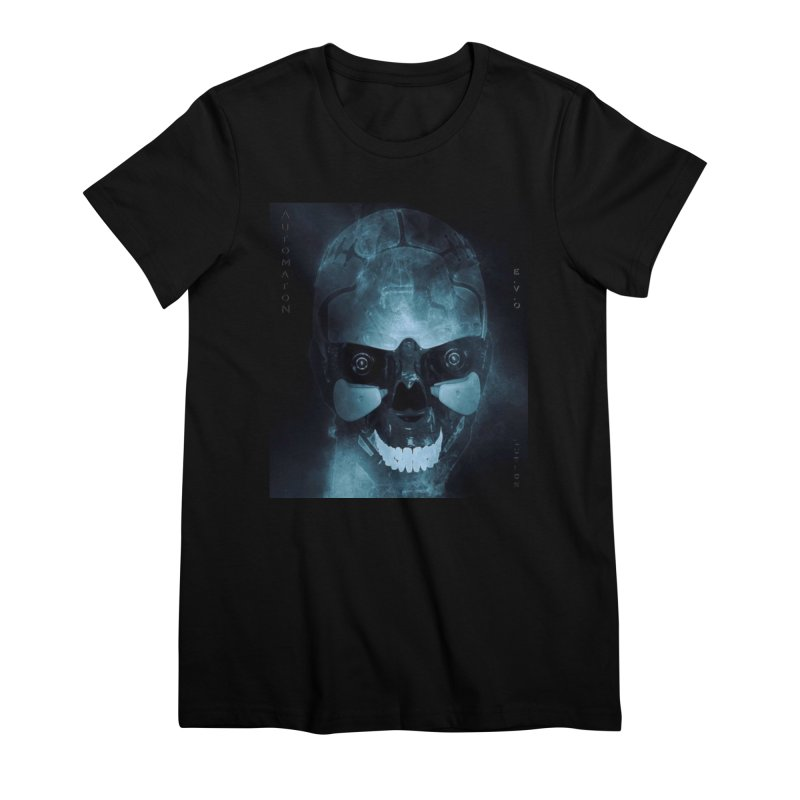 AutomatoN E.V.Olution Deus II Women's Premium T-Shirt by automatonofficial's Artist Shop