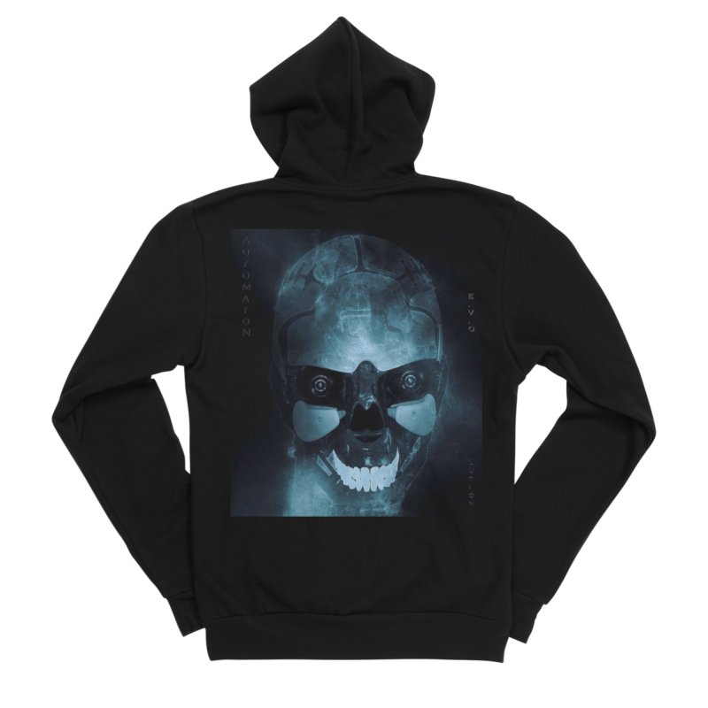 AutomatoN E.V.Olution Deus II Men's Sponge Fleece Zip-Up Hoody by automatonofficial's Artist Shop