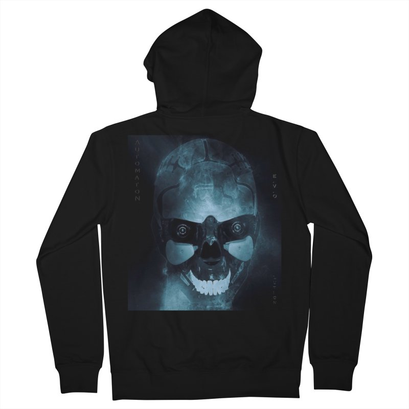 AutomatoN E.V.Olution Deus II Women's French Terry Zip-Up Hoody by automatonofficial's Artist Shop