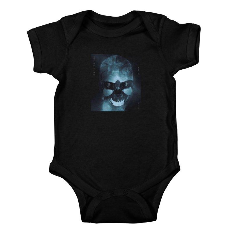 AutomatoN E.V.Olution Deus II Kids Baby Bodysuit by automatonofficial's Artist Shop
