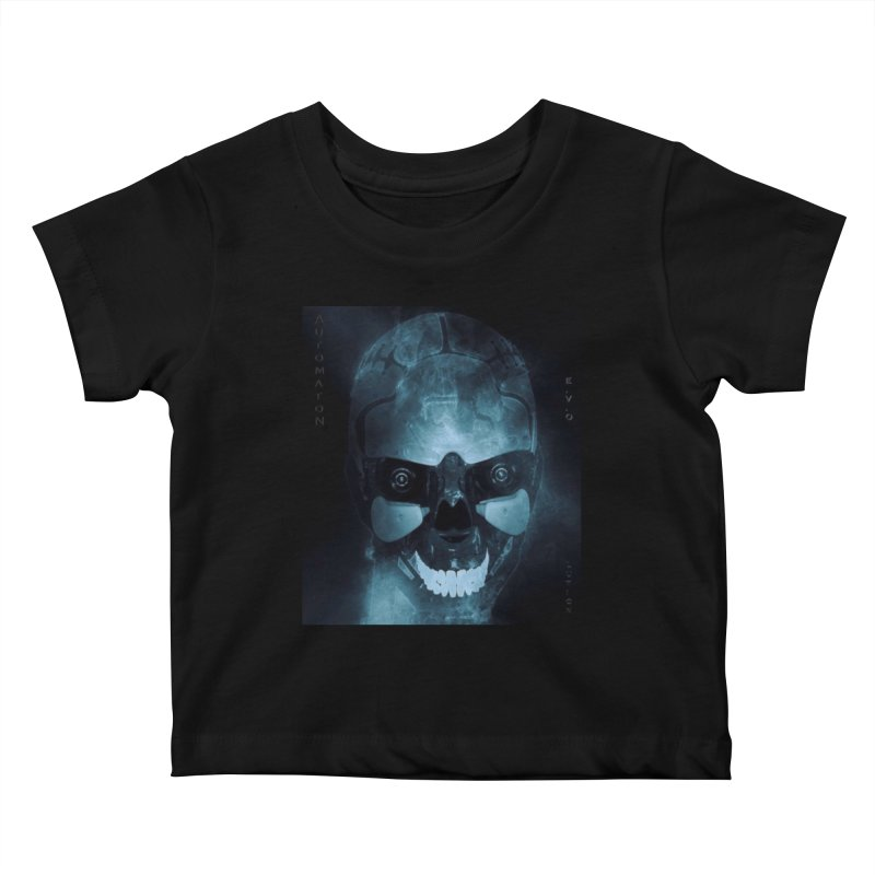 AutomatoN E.V.Olution Deus II Kids Baby T-Shirt by automatonofficial's Artist Shop