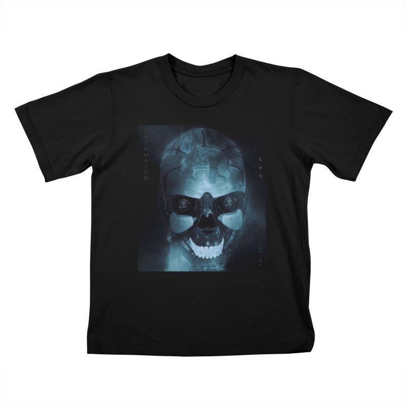 AutomatoN E.V.Olution Deus II Kids T-Shirt by automatonofficial's Artist Shop