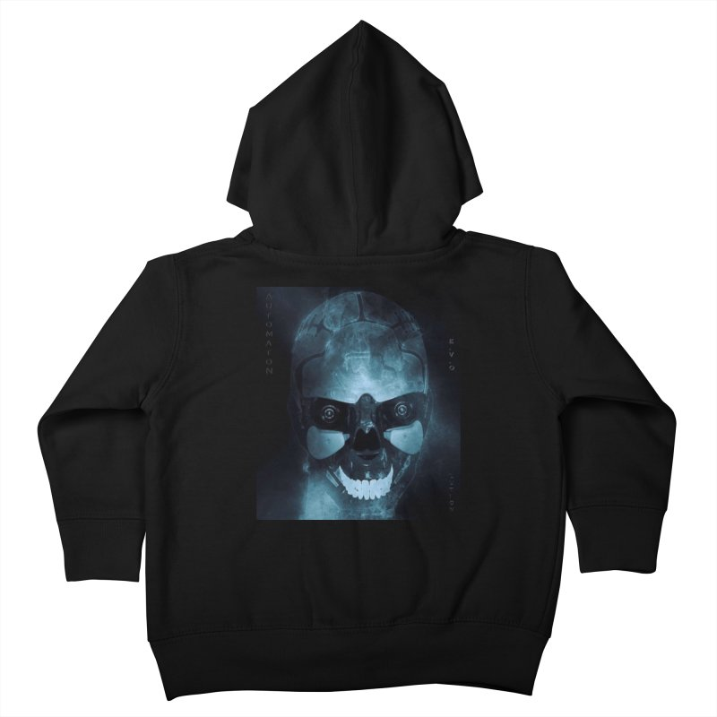 AutomatoN E.V.Olution Deus II Kids Toddler Zip-Up Hoody by automatonofficial's Artist Shop