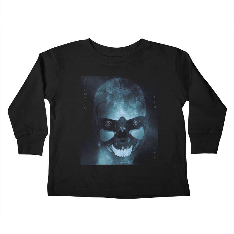 AutomatoN E.V.Olution Deus II Kids Toddler Longsleeve T-Shirt by automatonofficial's Artist Shop