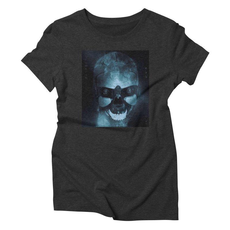 AutomatoN E.V.Olution Deus II Women's Triblend T-Shirt by automatonofficial's Artist Shop