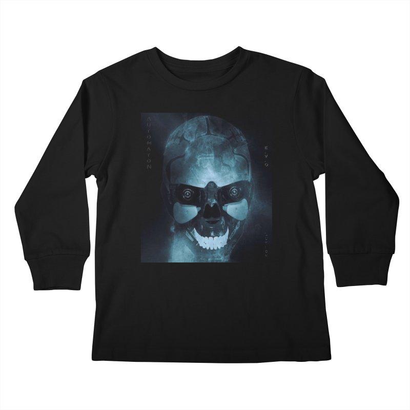 AutomatoN E.V.Olution Deus II Kids Longsleeve T-Shirt by automatonofficial's Artist Shop