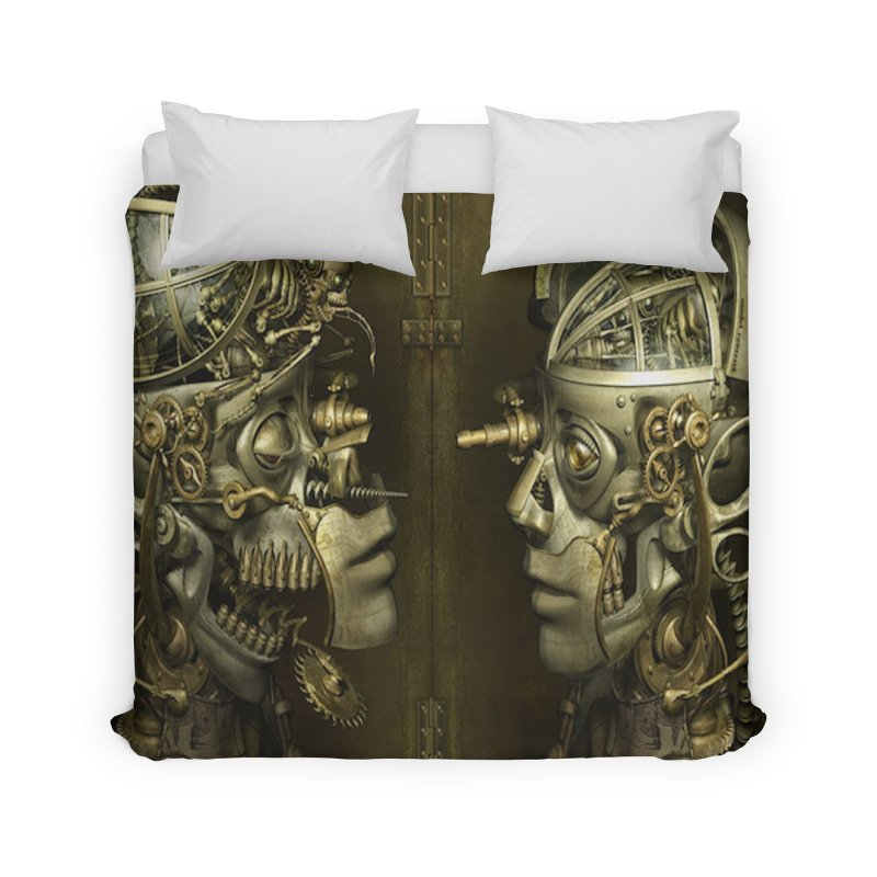 AutomatoN Chapter 1 cover Home Duvet by automatonofficial's Artist Shop