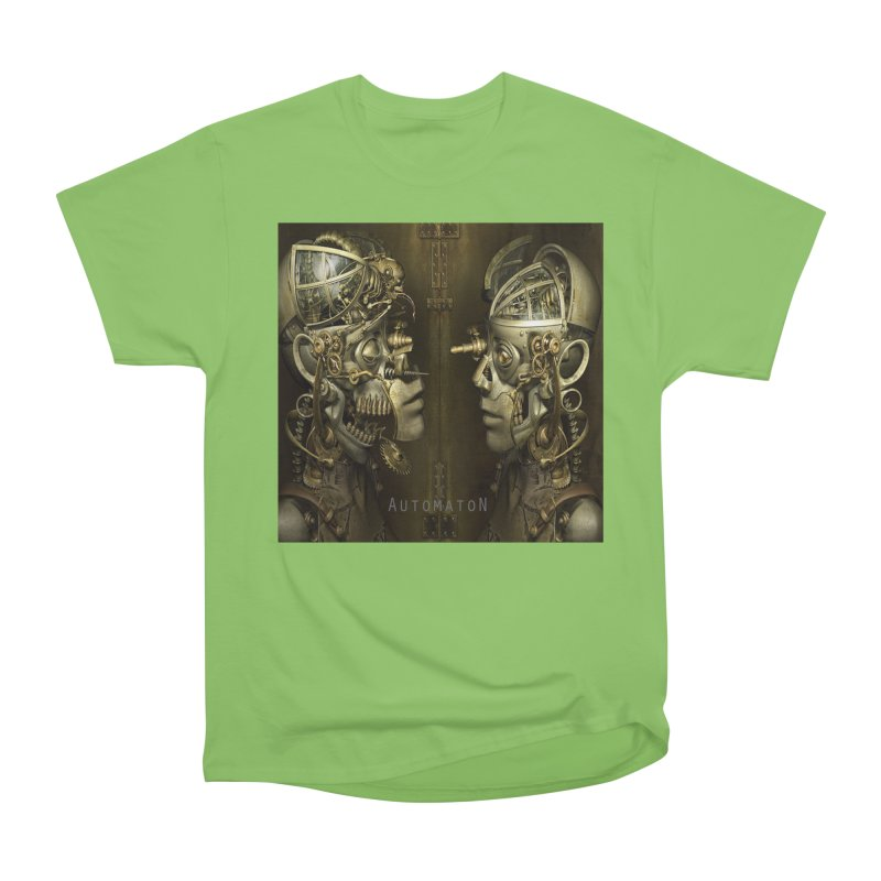 AutomatoN Chapter 1 cover Men's Heavyweight T-Shirt by automatonofficial's Artist Shop