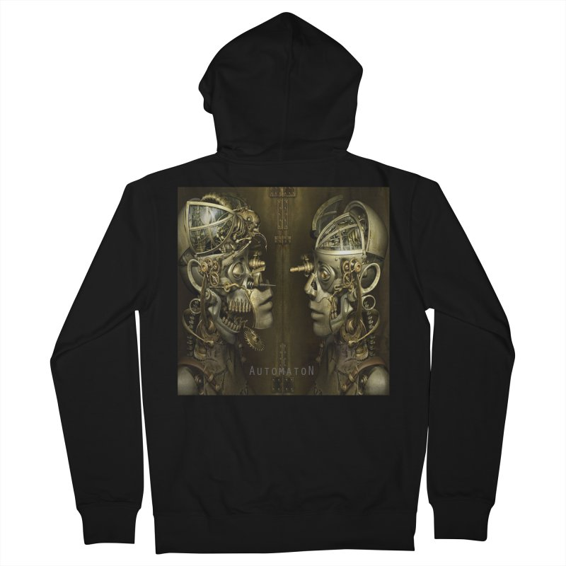 AutomatoN Chapter 1 cover Men's French Terry Zip-Up Hoody by automatonofficial's Artist Shop