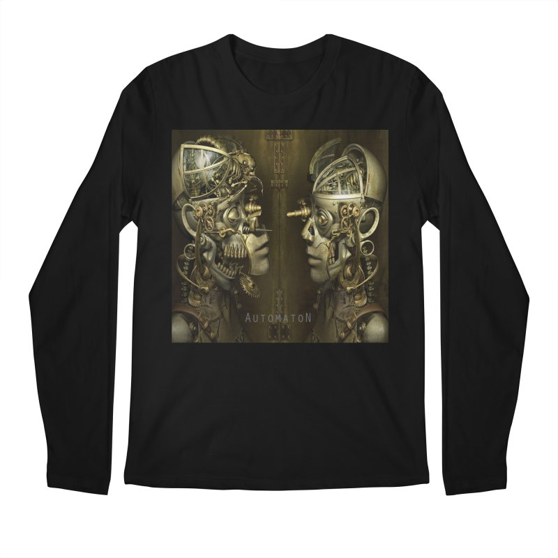 AutomatoN Chapter 1 cover Men's Regular Longsleeve T-Shirt by automatonofficial's Artist Shop