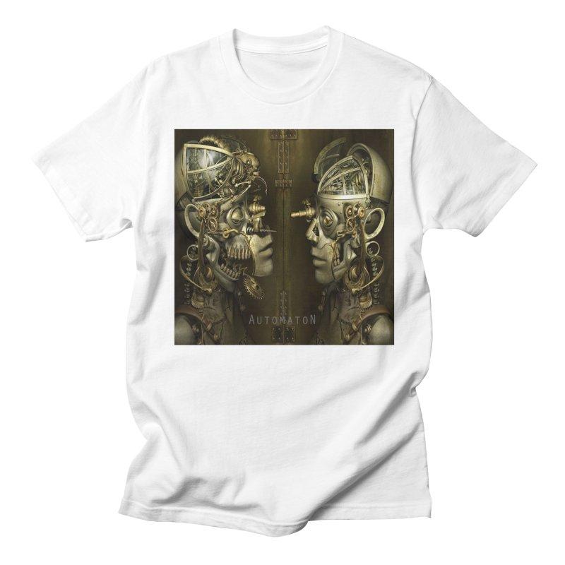 AutomatoN Chapter 1 cover Men's Regular T-Shirt by automatonofficial's Artist Shop