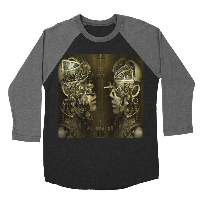 AutomatoN Chapter 1 cover Men's Baseball Triblend Longsleeve T-Shirt by automatonofficial's Artist Shop