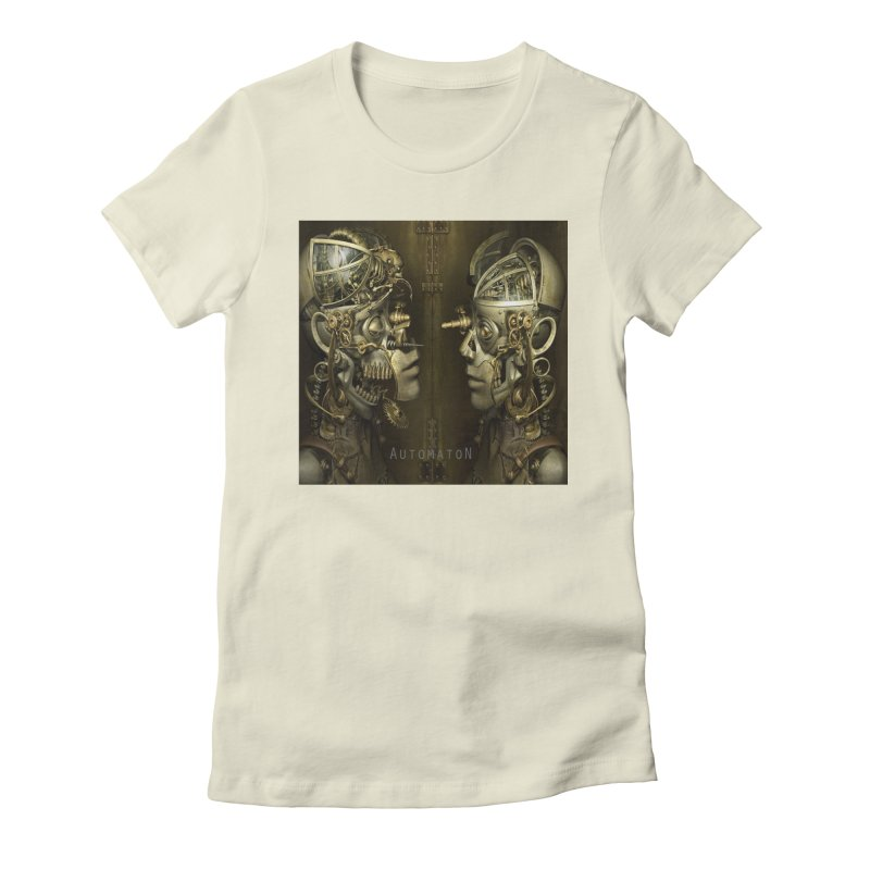 AutomatoN Chapter 1 cover Women's Fitted T-Shirt by automatonofficial's Artist Shop