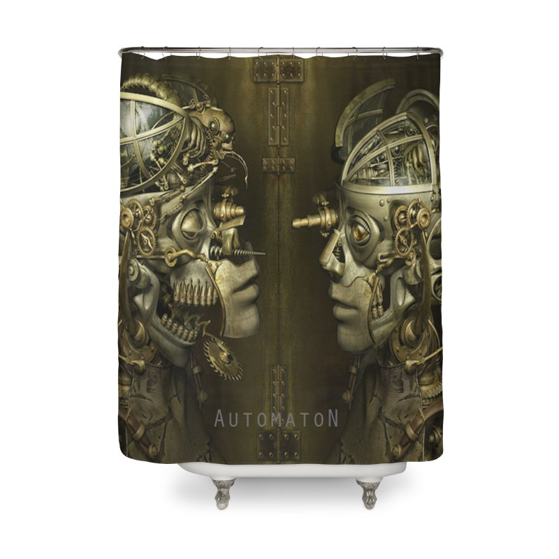 AutomatoN Chapter 1 cover Home Shower Curtain by automatonofficial's Artist Shop