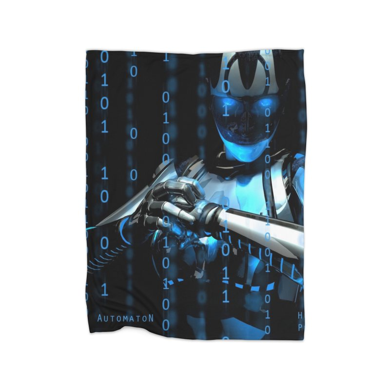 AutomatoN Chapter 2: Human Purge cover Home Fleece Blanket Blanket by automatonofficial's Artist Shop