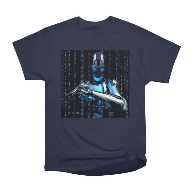 AutomatoN Chapter 2: Human Purge cover Women's Heavyweight Unisex T-Shirt by automatonofficial's Artist Shop