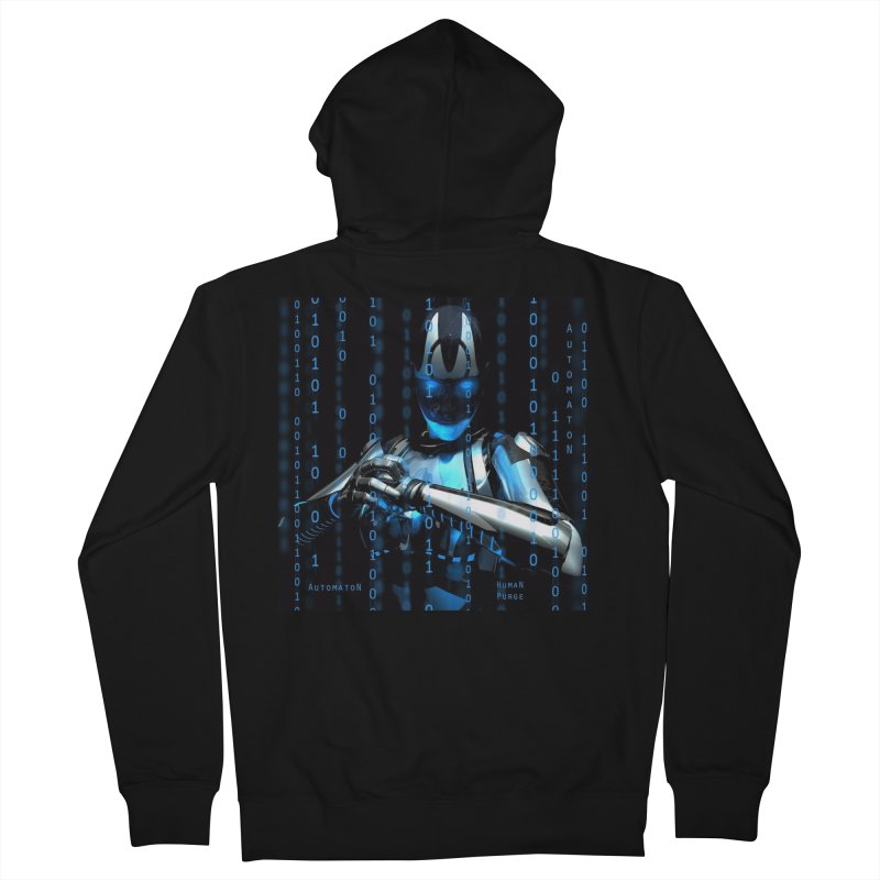 AutomatoN Chapter 2: Human Purge cover Men's French Terry Zip-Up Hoody by automatonofficial's Artist Shop