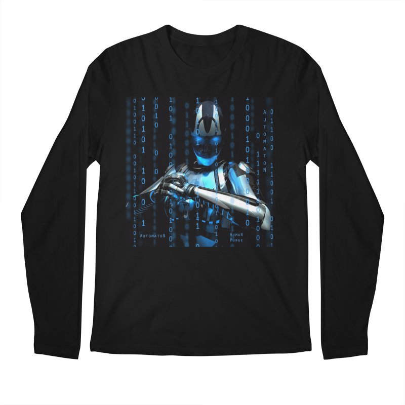 AutomatoN Chapter 2: Human Purge cover Men's Regular Longsleeve T-Shirt by automatonofficial's Artist Shop