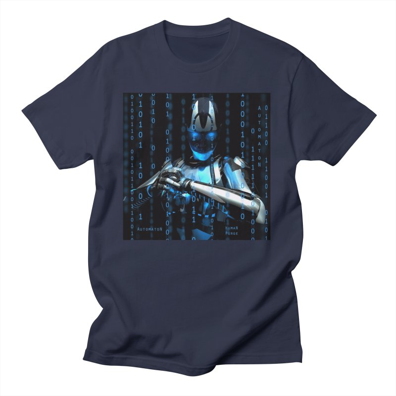 AutomatoN Chapter 2: Human Purge cover Men's Regular T-Shirt by automatonofficial's Artist Shop