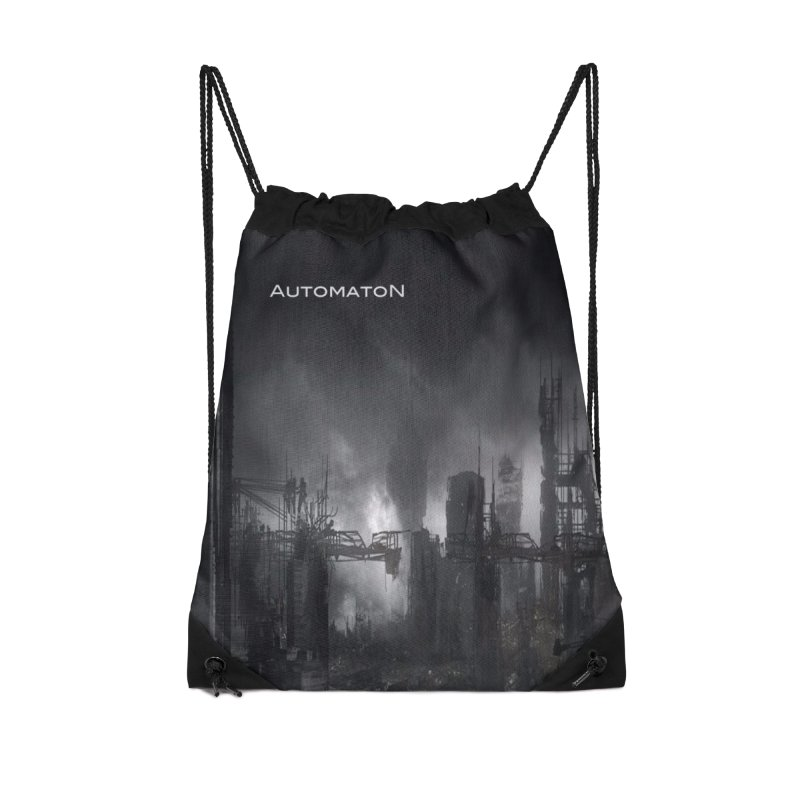 AutomatoN Chapter 3: III: A New Life cover Accessories Drawstring Bag Bag by automatonofficial's Artist Shop