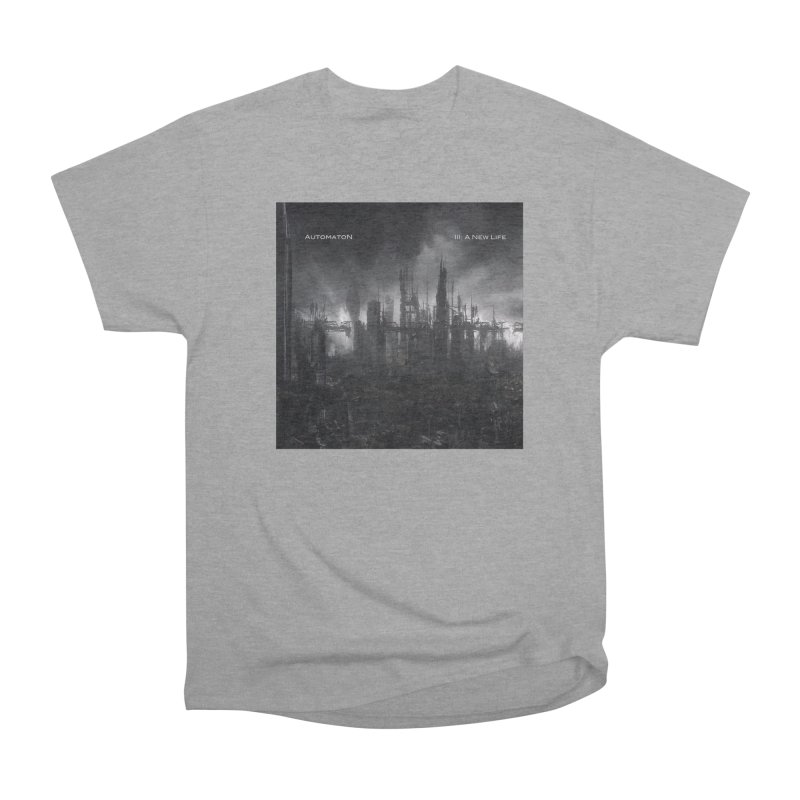 AutomatoN Chapter 3: III: A New Life cover Men's Heavyweight T-Shirt by automatonofficial's Artist Shop