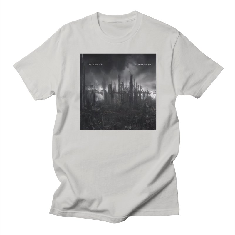 AutomatoN Chapter 3: III: A New Life cover Men's Regular T-Shirt by automatonofficial's Artist Shop