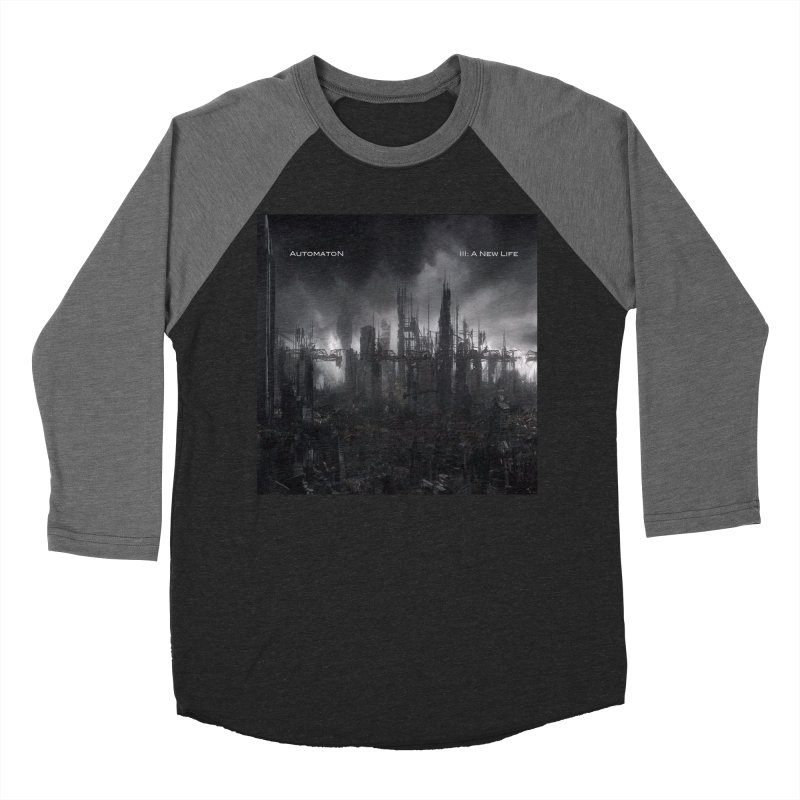 AutomatoN Chapter 3: III: A New Life cover Men's Baseball Triblend Longsleeve T-Shirt by automatonofficial's Artist Shop