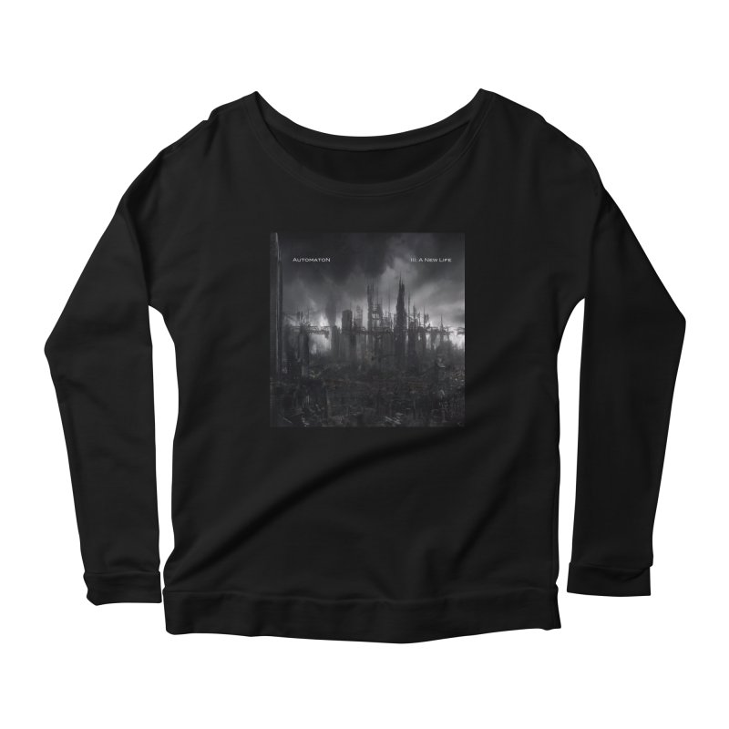AutomatoN Chapter 3: III: A New Life cover Women's Scoop Neck Longsleeve T-Shirt by automatonofficial's Artist Shop
