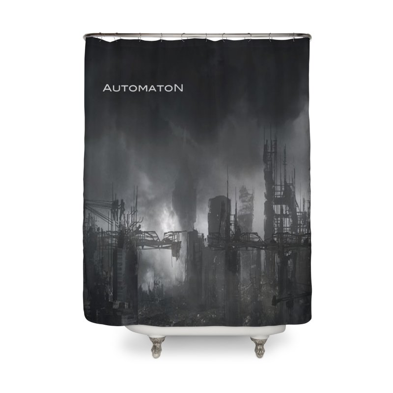AutomatoN Chapter 3: III: A New Life cover Home Shower Curtain by automatonofficial's Artist Shop