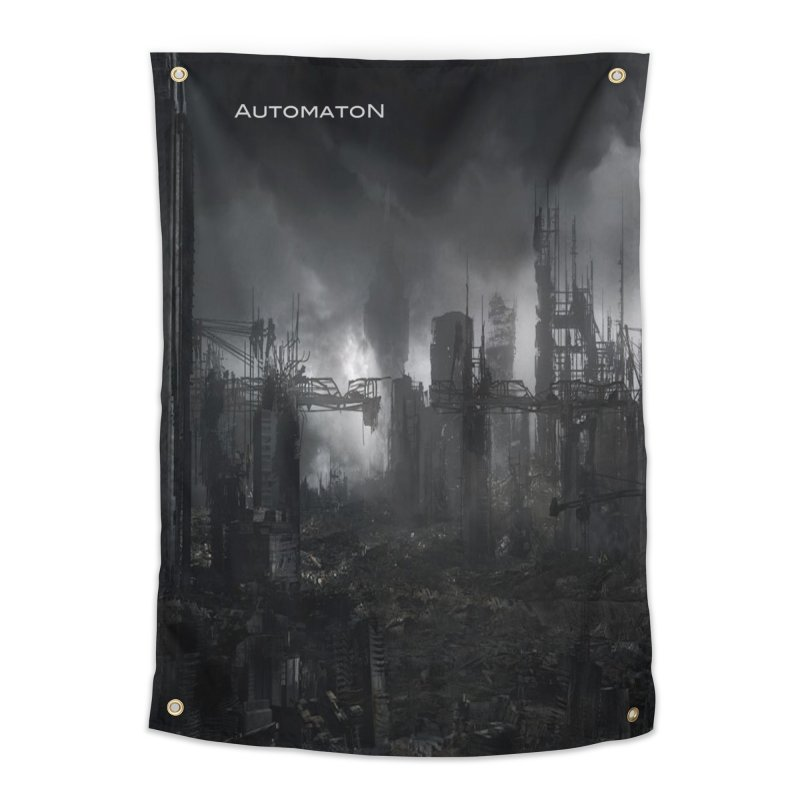 AutomatoN Chapter 3: III: A New Life cover Home Tapestry by automatonofficial's Artist Shop