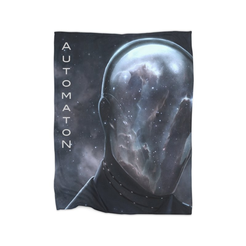 AutomatoN Chapter 4: Sub Coma cover Home Fleece Blanket Blanket by automatonofficial's Artist Shop