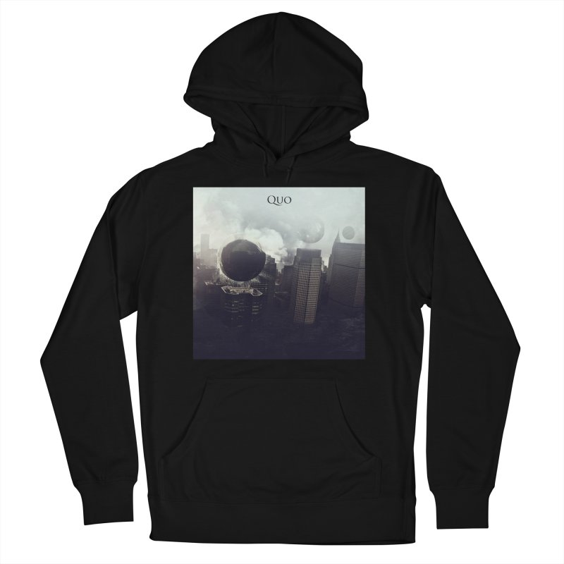 Quo Self Titled cover Women's French Terry Pullover Hoody by automatonofficial's Artist Shop