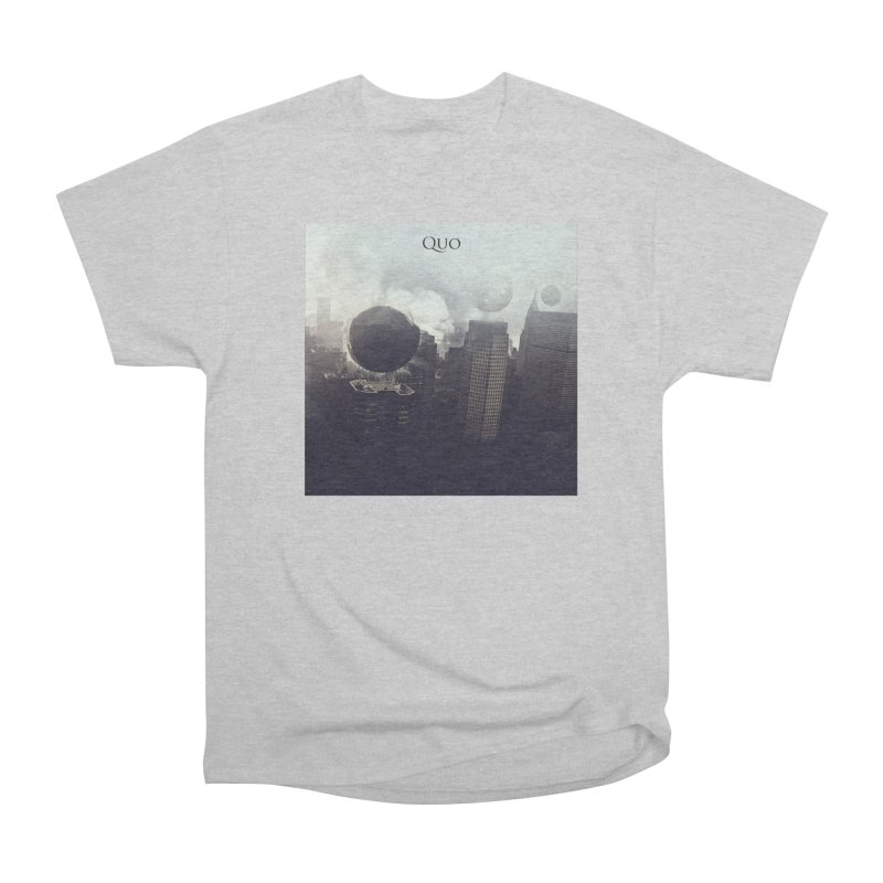 Quo Self Titled cover Men's Heavyweight T-Shirt by automatonofficial's Artist Shop