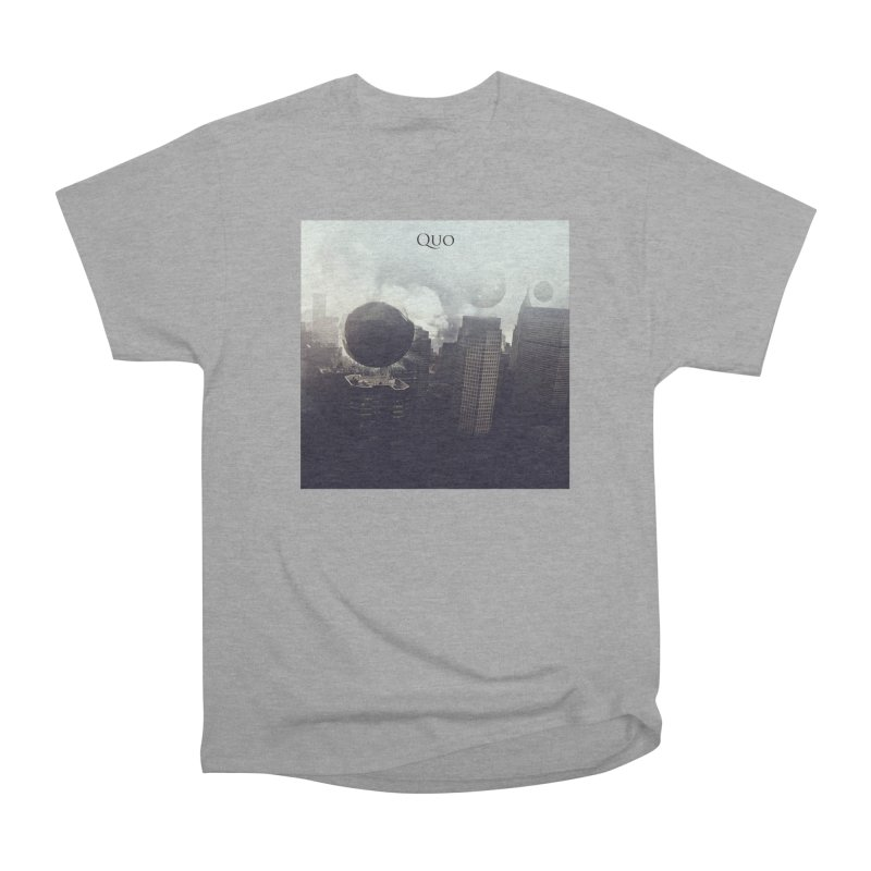 Quo Self Titled cover Women's Heavyweight Unisex T-Shirt by automatonofficial's Artist Shop