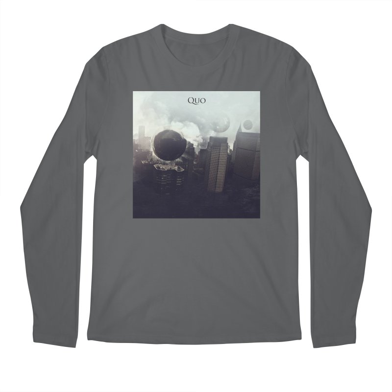 Quo Self Titled cover Men's Regular Longsleeve T-Shirt by automatonofficial's Artist Shop