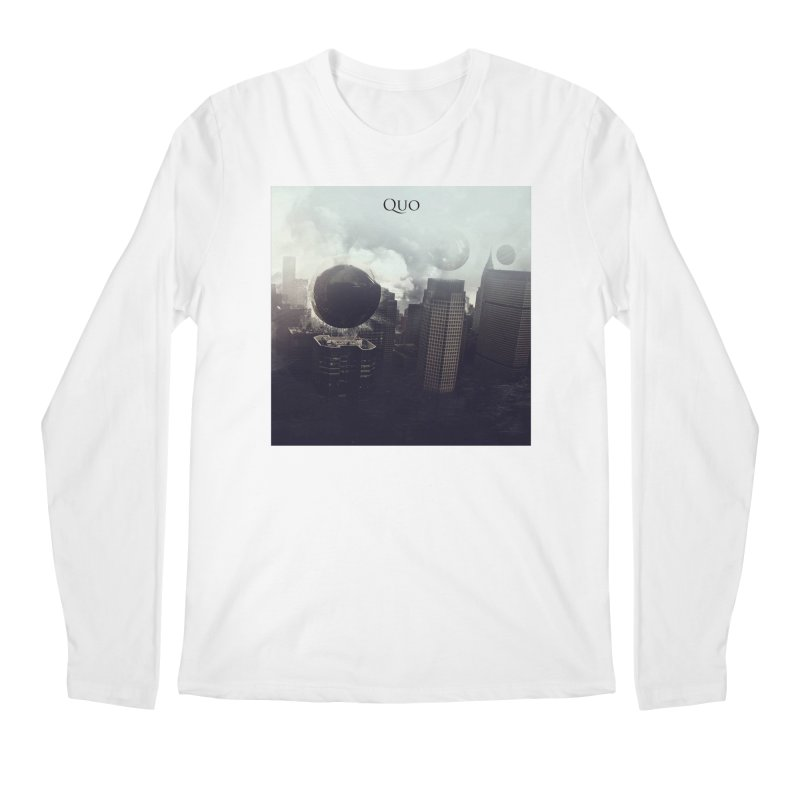Quo Self Titled cover Men's Regular Longsleeve T-Shirt by automatonofficial's Artist Shop