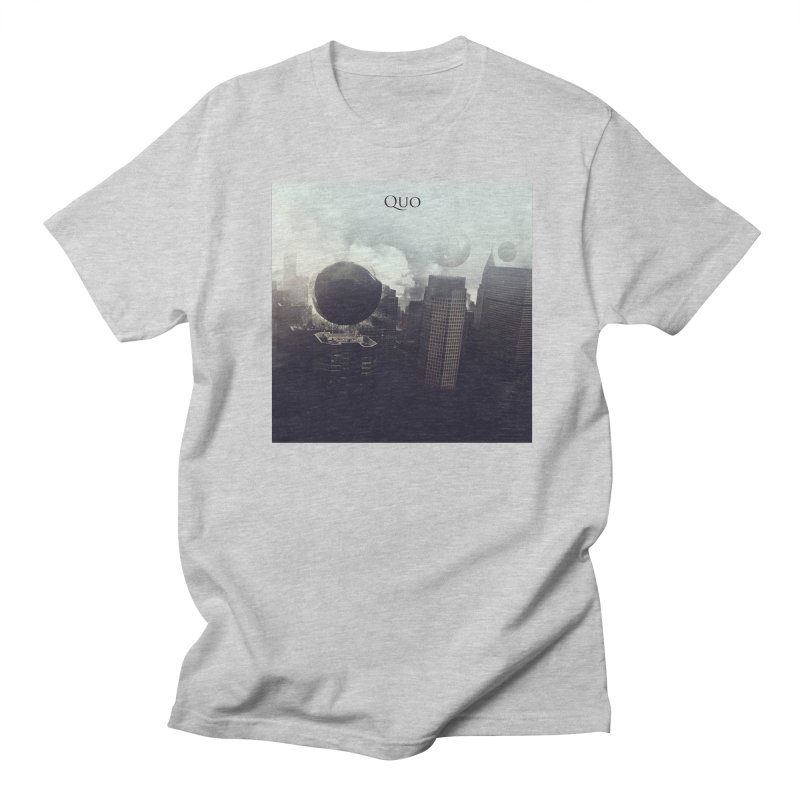 Quo Self Titled cover Men's Regular T-Shirt by automatonofficial's Artist Shop