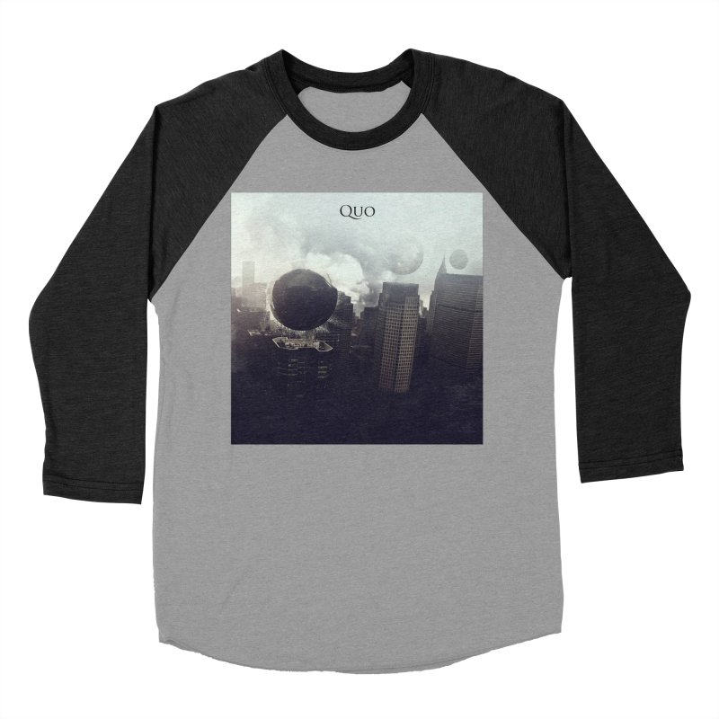 Quo Self Titled cover Women's Baseball Triblend Longsleeve T-Shirt by automatonofficial's Artist Shop