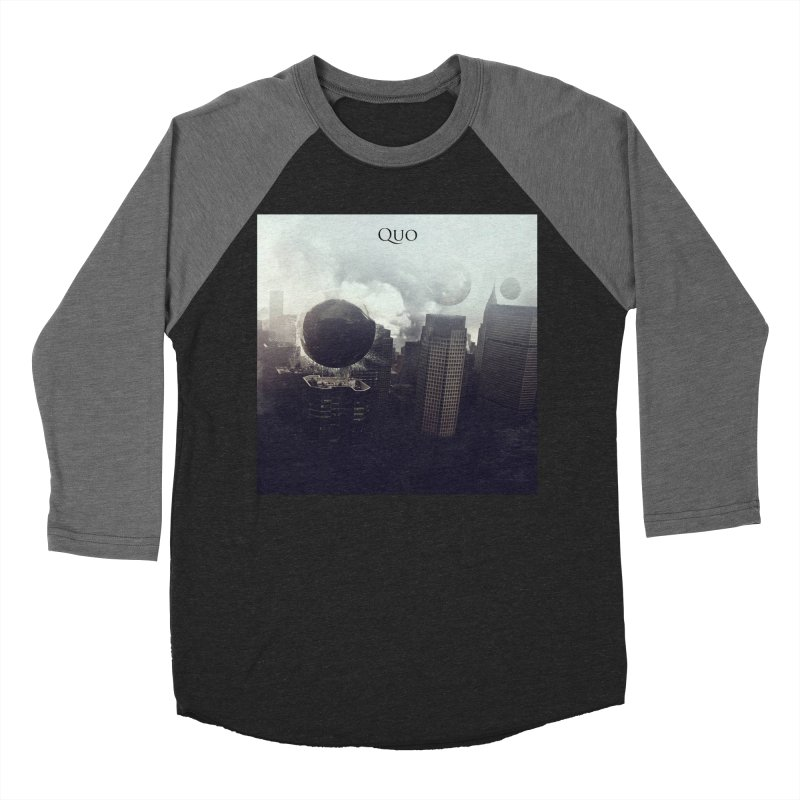 Quo Self Titled cover Men's Baseball Triblend Longsleeve T-Shirt by automatonofficial's Artist Shop