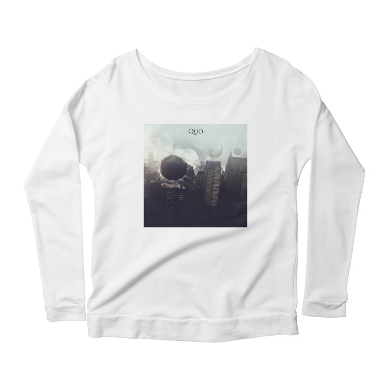 Quo Self Titled cover Women's Scoop Neck Longsleeve T-Shirt by automatonofficial's Artist Shop