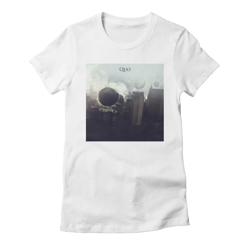 Quo Self Titled cover Women's Fitted T-Shirt by automatonofficial's Artist Shop