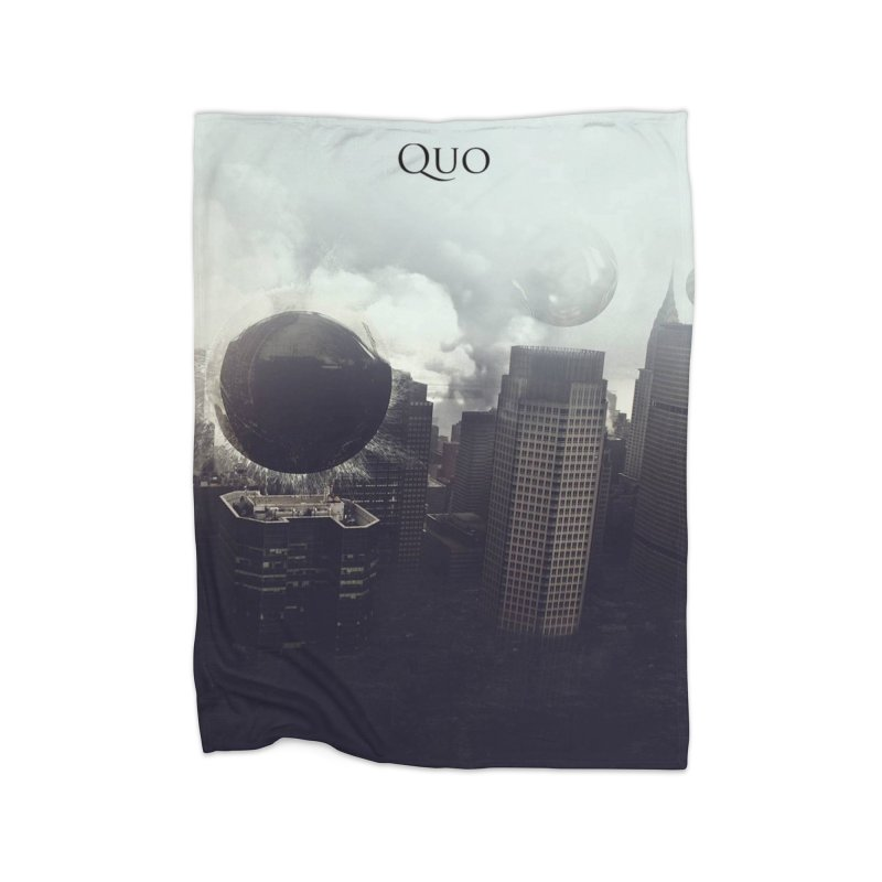 Quo Self Titled cover Home Fleece Blanket Blanket by automatonofficial's Artist Shop
