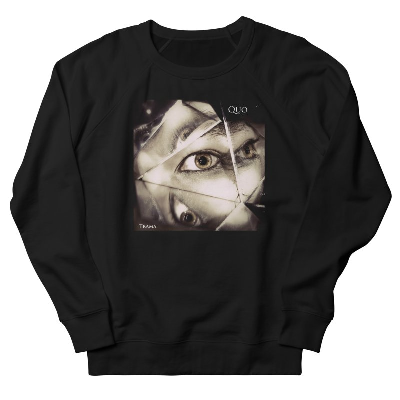 Quo Trama cover Women's French Terry Sweatshirt by automatonofficial's Artist Shop