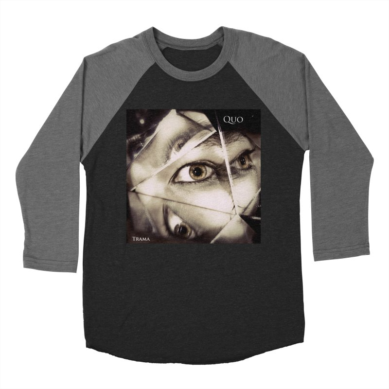 Quo Trama cover Women's Baseball Triblend Longsleeve T-Shirt by automatonofficial's Artist Shop